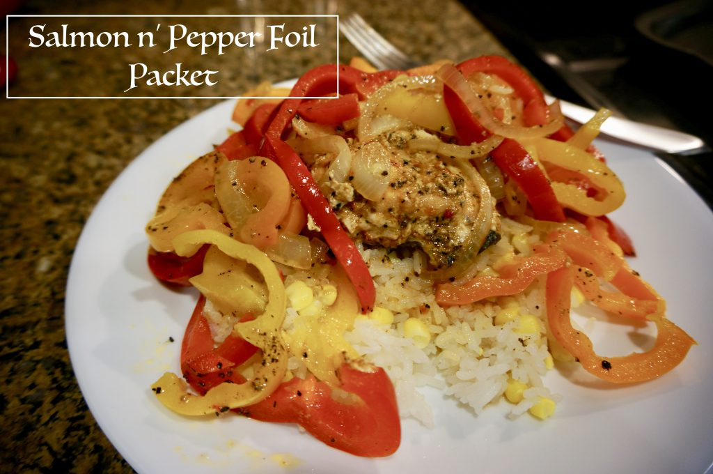 salmon n' pepper packet